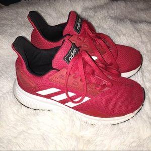 Adidas red Run70s
